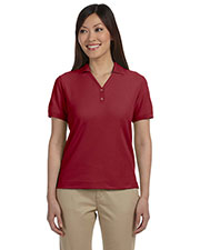 Ladies' Pima Piqué Short-Sleeve Y-Collar Polo at GotApparel