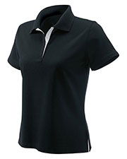 Devon & Jones Classic D150W Women Tanguis Cotton Pique Polo at GotApparel