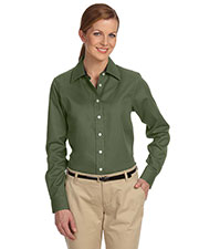 Devon & Jones Classic D610W Women Pima Advantage Twill at GotApparel