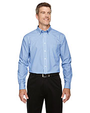 Devon & Jones Classic D645 Men Crown Collection  Banker Stripe at GotApparel