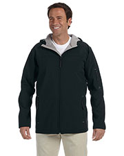 Men's Soft Shellhooded Jacket at GotApparel