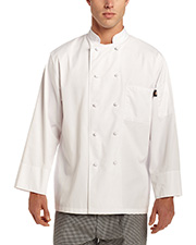 Dickies Chef Dc48  Classic Knot Button  Coat S/S at GotApparel