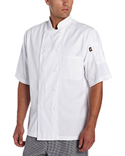 Dickies Chef Dc49  Classic 10 Button  Coat S/S at GotApparel