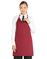 Dickies Chef Dc53  V-Neck Tuxedo Apron With Snaps at GotApparel