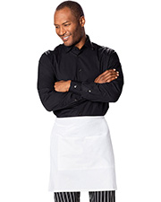 Dickies Chef Dc57  Half Bistro Waist Apron With 2 Pockets at GotApparel