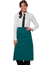 Dickies Chef Dc58  Full Bistro Waist Apron With 2 Pockets at GotApparel