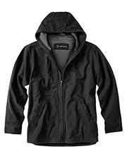 Dri Duck Dd5090t  S 100% Cotton 12 Oz. Canvas/Polyester Thermal Lining Hooded Tall Laredo Jacket at GotApparel