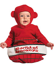 Halloween Costumes DG16817I Infants Barrel Of Monkeys 0-6 Mths at GotApparel