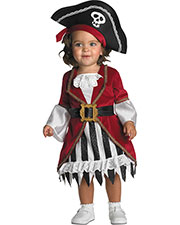 Halloween Costumes DG1764W Infants Pirate Princess 12 To 18 Month at GotApparel