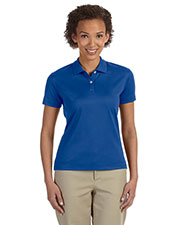 Devon & Jones Classic DG200W Women Pima-Tech  Jet Pique Polo at GotApparel