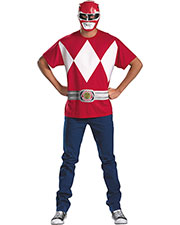 Halloween Costumes DG24661C Men Red Ranger Alternative 50-52 at GotApparel