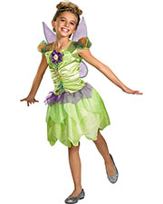 Halloween Costumes DG27170L Girls Tinker Bell Rainbow 4-6 at GotApparel
