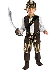 Halloween Costumes DG3211L Boys Rogue Pirate Child 4-6 at GotApparel