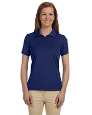 Devon & Jones Blue DG385W Women's Dri-Fast™ Advantage™ Solid Mesh Polo at GotApparel