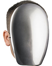 Morris Costumes DG39340 No Face Chrome at GotApparel
