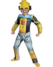 Halloween Costumes DG42646M Boys Bumblebee Rescue Bot Muscle 3t at GotApparel