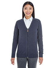 Ladies' Manchester Fully-Fashioned Full-Zip Sweater at GotApparel