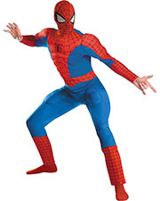 Halloween Costumes DG50188C Men Spider-Man Dlx Ad Muscle 50-52 at GotApparel