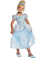 Halloween Costumes DG50571K Girls Cinderella Deluxe Child 7-8 at GotApparel