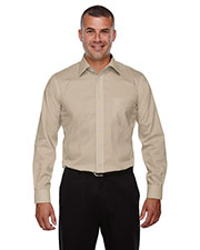 Devon & Jones Classic DG530T Men Tall Crown Collection  Solid Stretch Twill at GotApparel