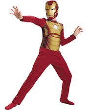 Halloween Costumes DG55638L Men Iron Man Mark 42 Child Basic 4 at GotApparel