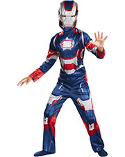 Halloween Costumes DG55646G Men Iron Patriot Chd 10-12 Classic at GotApparel