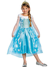 FROZEN ELSA CHILD DELUXE 7-8 at GotApparel