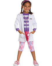 Halloween Costumes DG59090M Girls Doc Deluxe 3t-4t at GotApparel