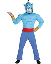 Halloween Costumes DG5955 Men Genie Muscle Chest Adult at GotApparel