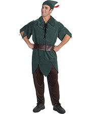 Halloween Costumes DG5964 Men Peter Pan Adult at GotApparel