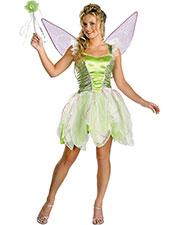 Halloween Costumes DG6550T Girls Tinker Bell Deluxe Jr. 7-9 at GotApparel