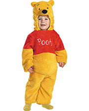 Halloween Costumes DG6579M Infants Pooh Deluxe Plush 3t-4t at GotApparel