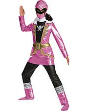 Halloween Costumes DG69656L Girls Pink Ranger Deluxe Child 4-6 at GotApparel