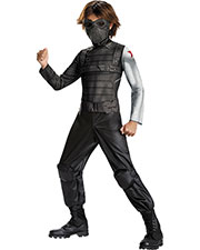 Halloween Costumes DG73366L Boys Winter Soldier Classic 4-6x at GotApparel