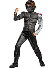 Halloween Costumes DG73372L Boys Winter Soldier Muscle 4-6x at GotApparel