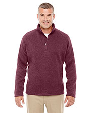 Devon & Jones Classic DG792 Women Bristol Sweater Fleece Quarter-Zip at GotApparel