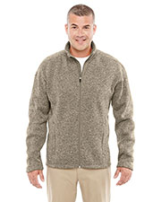Devon & Jones Classic DG793 Men Bristol Full-Zip Sweater Fleece Jacket at GotApparel
