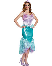 Halloween Costumes DG85686B Women Ariel Deluxe 8-10 at GotApparel