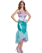 Halloween Costumes DG85686N Women Ariel Deluxe 4-6 at GotApparel