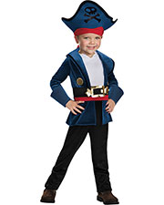 Halloween Costumes DG86382L Infants Captain Jake Classic 4-6 at GotApparel