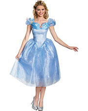 Halloween Costumes DG87039E Women Cinderella Movie Adult Dx 12-14 at GotApparel