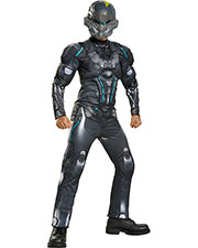 Halloween Costumes DG97537J Men Spartan Locke Muscle Ch 14-16 at GotApparel