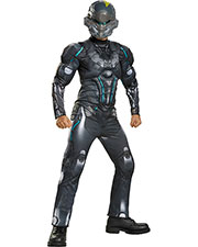 Halloween Costumes DG97537K Men Spartan Locke Muscle Ch 7-8 at GotApparel