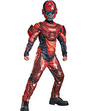 Halloween Costumes DG97542L Boys Red Spartan Muscle Child 4-6 at GotApparel