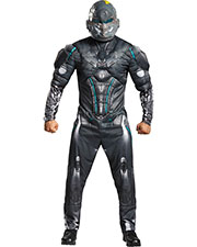 Halloween Costumes DG97555T Men Spartan Locke Muscle Ad 38-40 at GotApparel