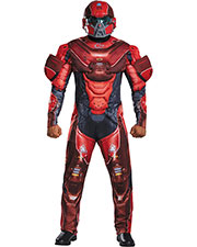 Halloween Costumes DG97558D Men Red Spartan Muscle 42-46 at GotApparel