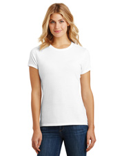 District Made DM130L Women   Perfect Tri & Crew Tee at GotApparel
