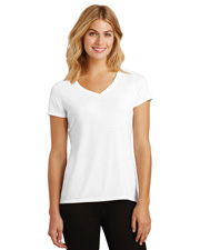 District Made DM1350L  ®  Ladies Perfect Tri ®  V-Neck Tee. at GotApparel
