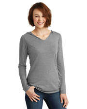 District Made DM139L  ® Ladies Perfect Tri® Long Sleeve Hoodie. . at GotApparel