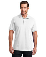 District Made DM325 Men Stretch Pique Polo at GotApparel